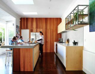 Efficient Kitchen Becomes the Heart of This Revamped Aussie Home