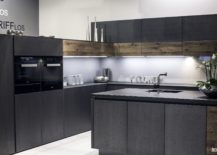 Wooden-cabinets-add-warmth-to-kitchen-in-white-and-gray-217x155