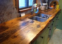 Wooden-countertop-with-a-rough-rustic-style--217x155