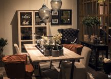 Modern Rustic Dining Room.15 Ways To Bring Rustic Warmth To The Modern Dining Room