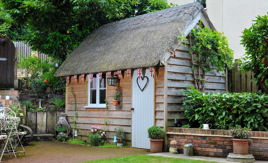 Garden Sheds Pictures fairytale backyards: 30 magical garden sheds
