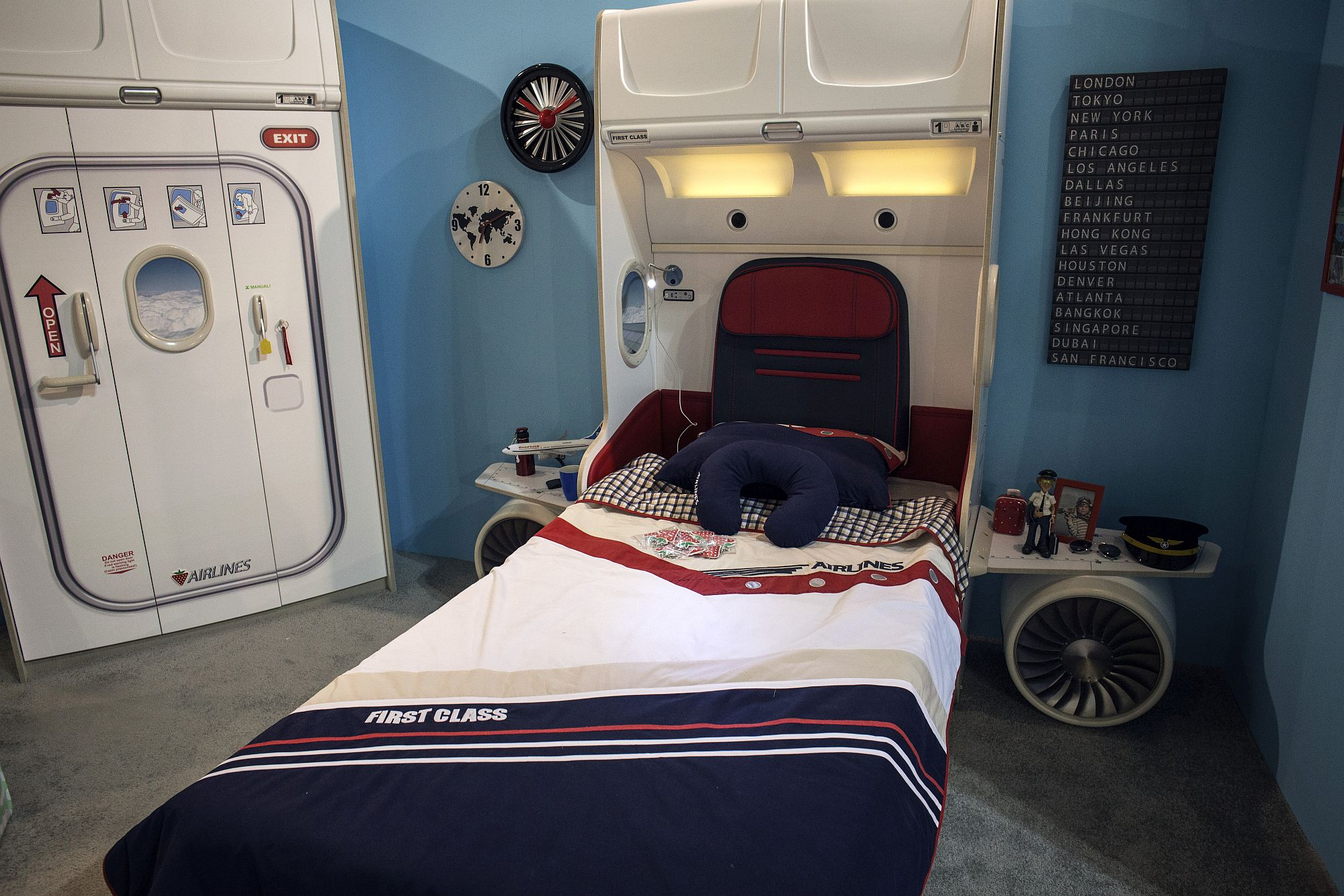 themed bedroom furniture. In Gallery Aeroplane Themed Kids\u0027 Bedroom Furniture D