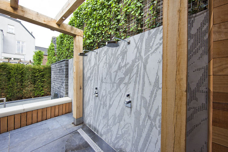 Superb Epitome Of Luxury: 30 Refreshing Outdoor Showers