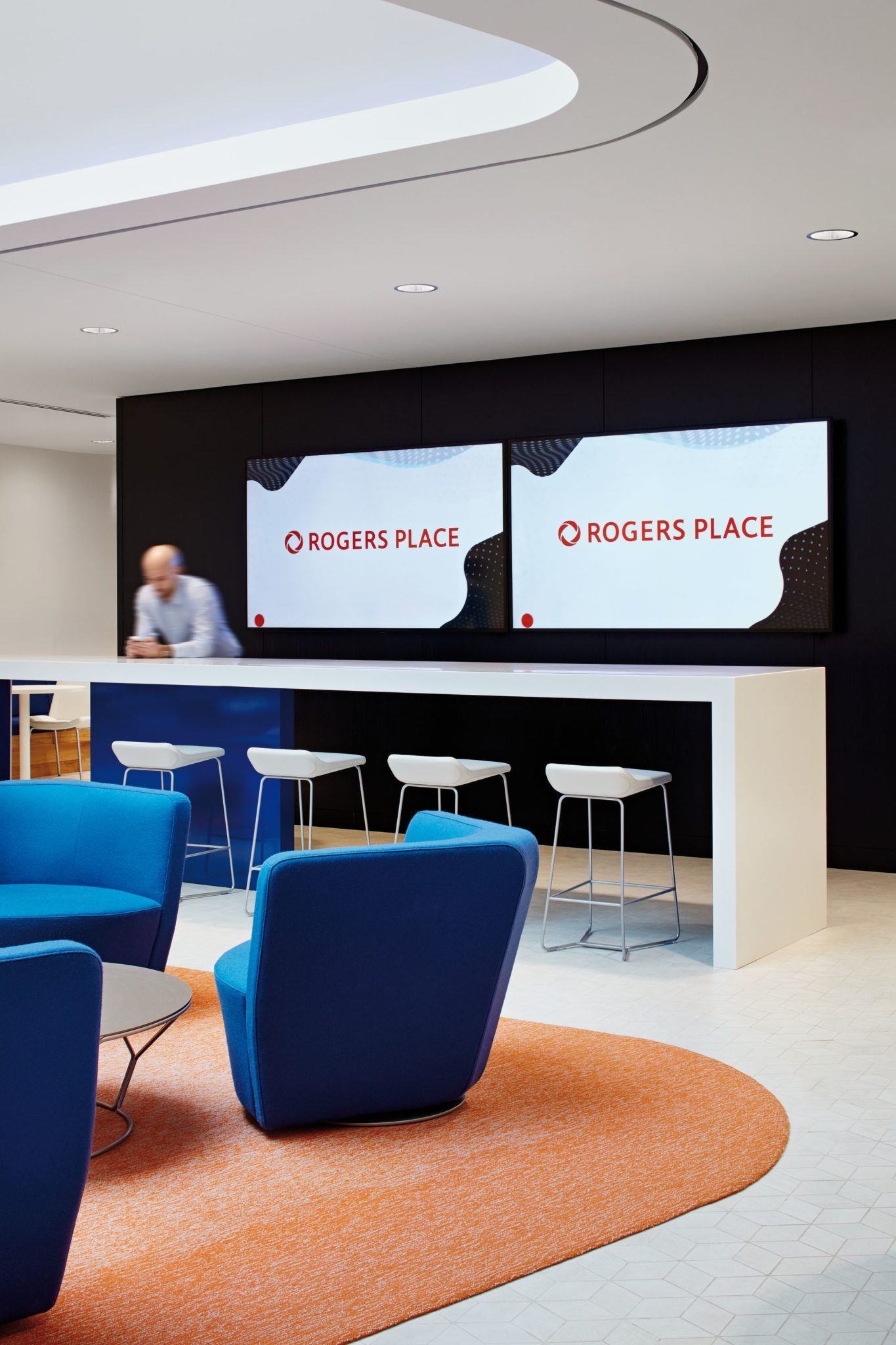 Breakfast bar and lunch room of the OEG headquarters