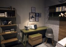 Cabinet-on-wheels-is-a-great-space-saver-in-the-small-kids-bedroom-217x155