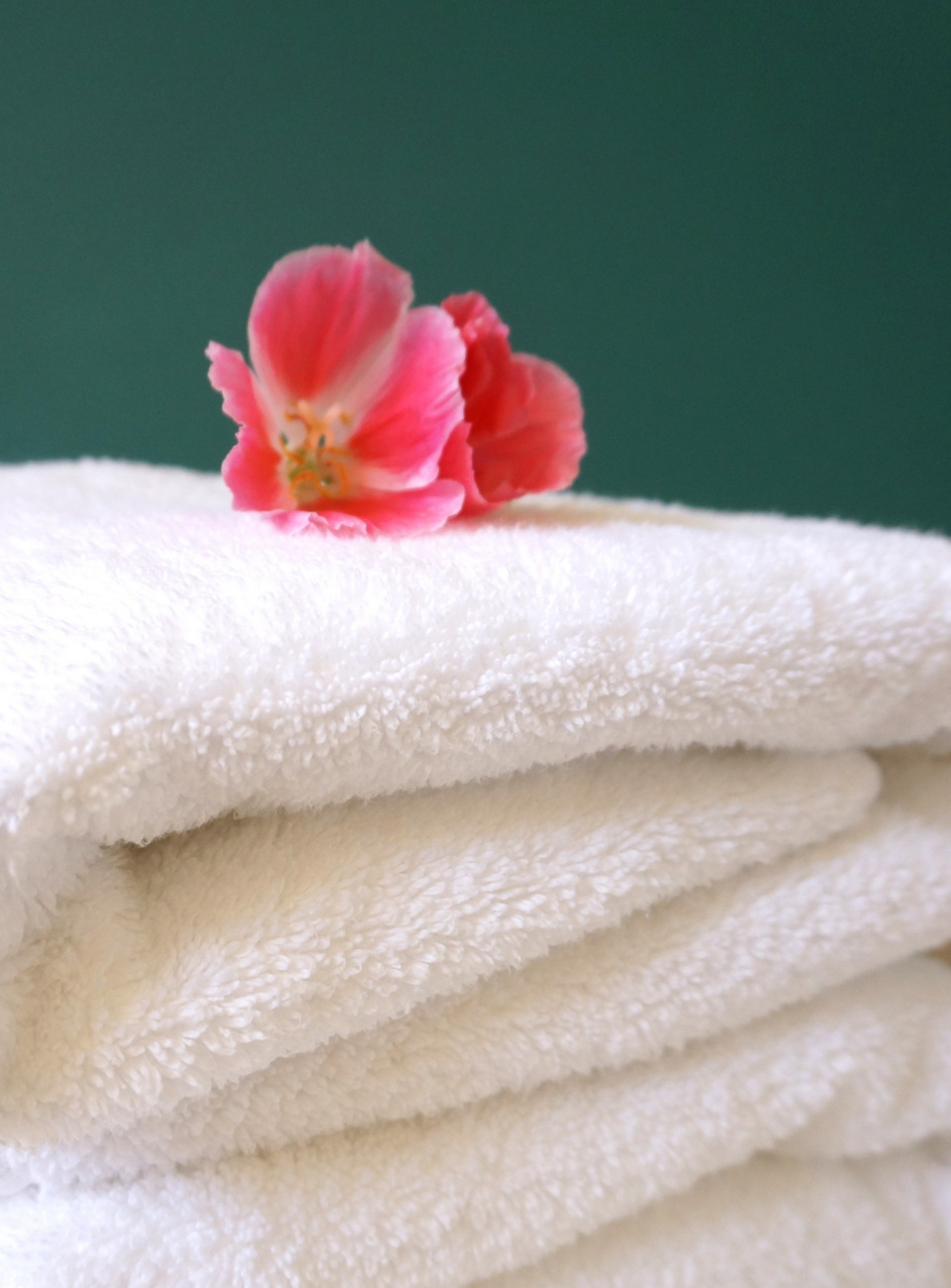 Care for fluffy towels