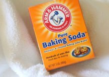 Clean towels with baking soda 217x155 The Secret to Soft, Fluffy Towels