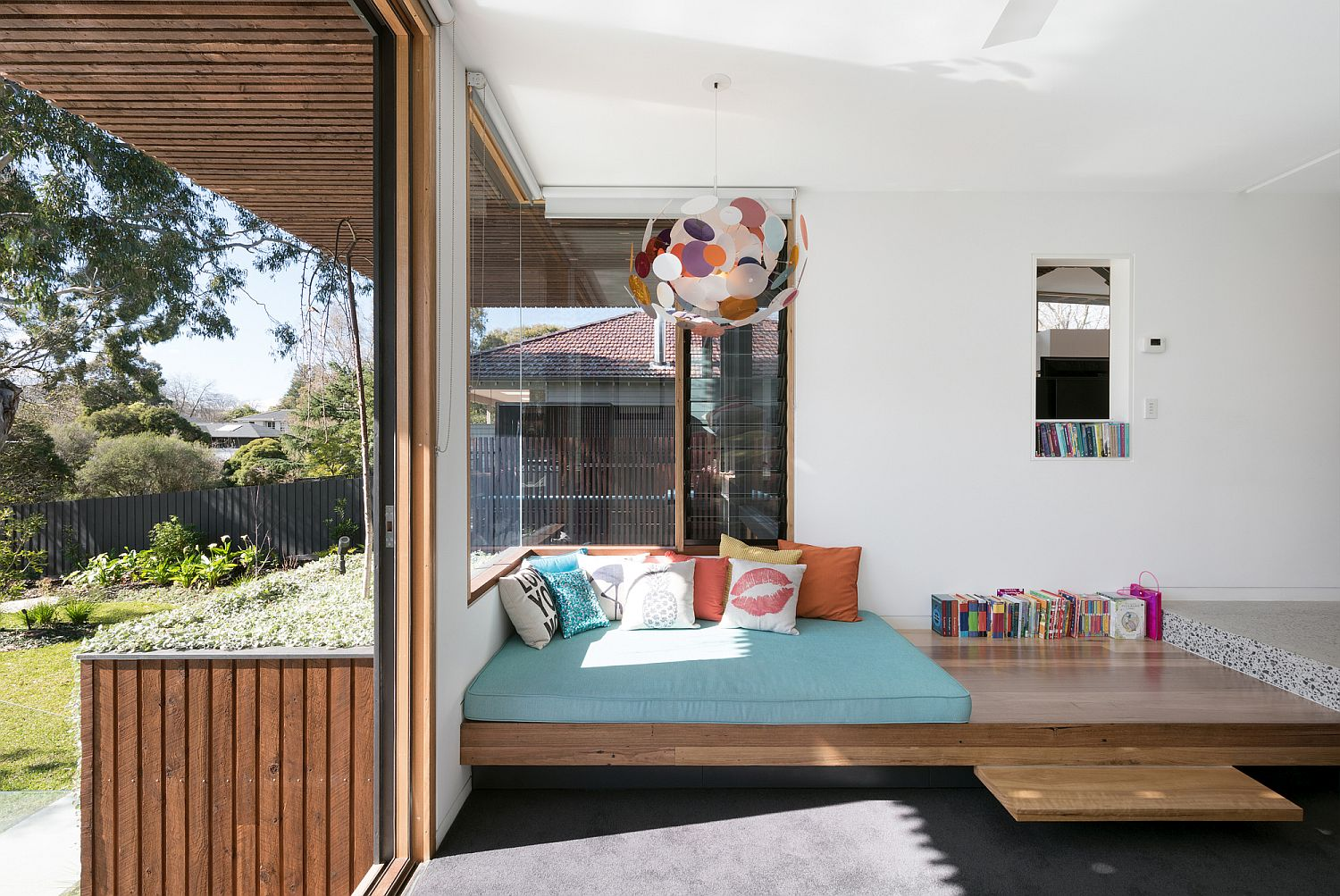 Comfy window seat and daybed