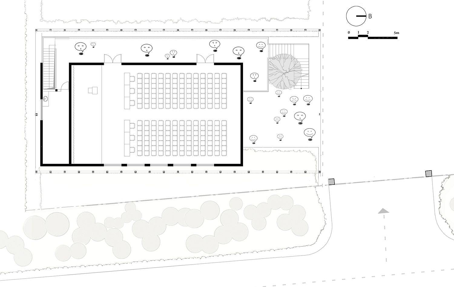 Conference level floor plan of VIET My Office