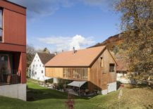 Conversion Mill Barn in Switzerland 217x155 Converted Mill Barn with Tiled Roof Conceals Modern Apartments