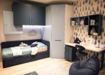 Creative-corner-wardrobe-maximizes-space-while-bringing-geometric-contrast-217x155