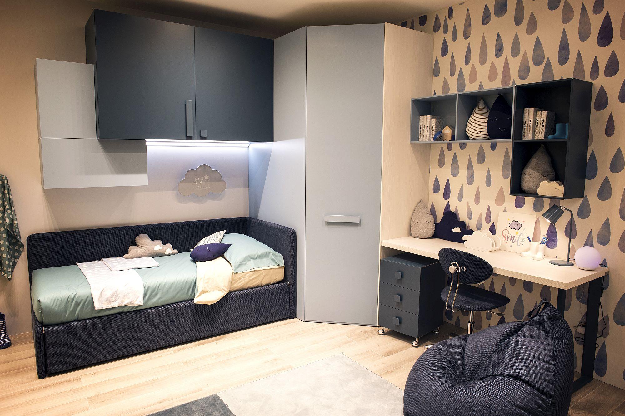 15 ways to maximize corner space in kids bedrooms - Ways to maximize space in a small bedroom decor ...