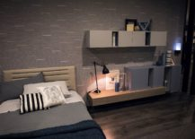 Dark-and-modern-bedside-table-lamp-with-flexible-arm-217x155