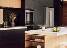 Dark-shelves-from-floor-to-ceiling-make-a-big-visual-impact-217x155