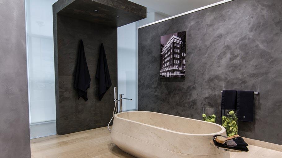 Decorative Micro-Stuk large wall tiles by Butech