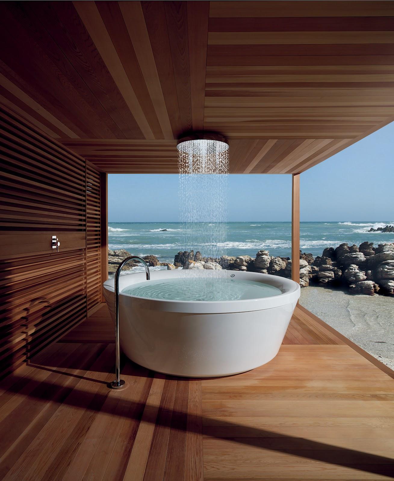 Bathroom Outdoor: Epitome Of Luxury: 30 Refreshing Outdoor Showers