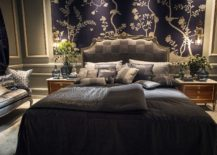 Flowers-on-the-tabletop-complement-the-unique-backdrop-in-the-bedroom-217x155