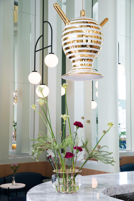 Garra bar ceramic lights
