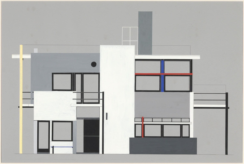 Gerrit Rietveld's plan for the Schröder house