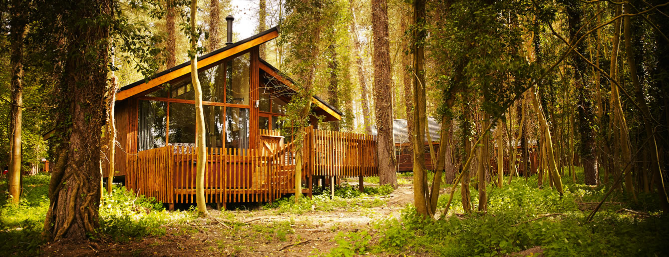Glamorous getaway cabin