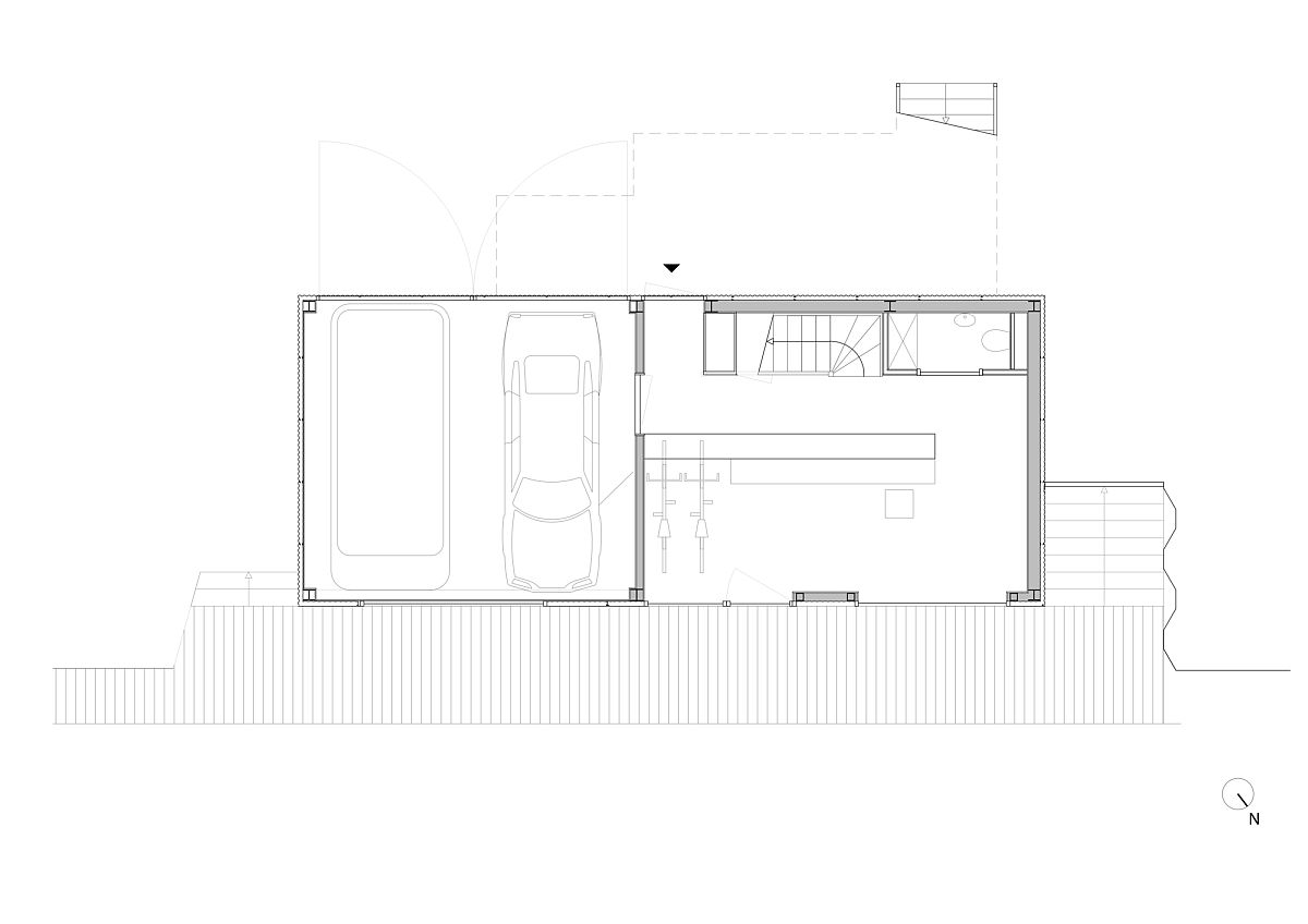 Ground floor plan of the House with 11 Views