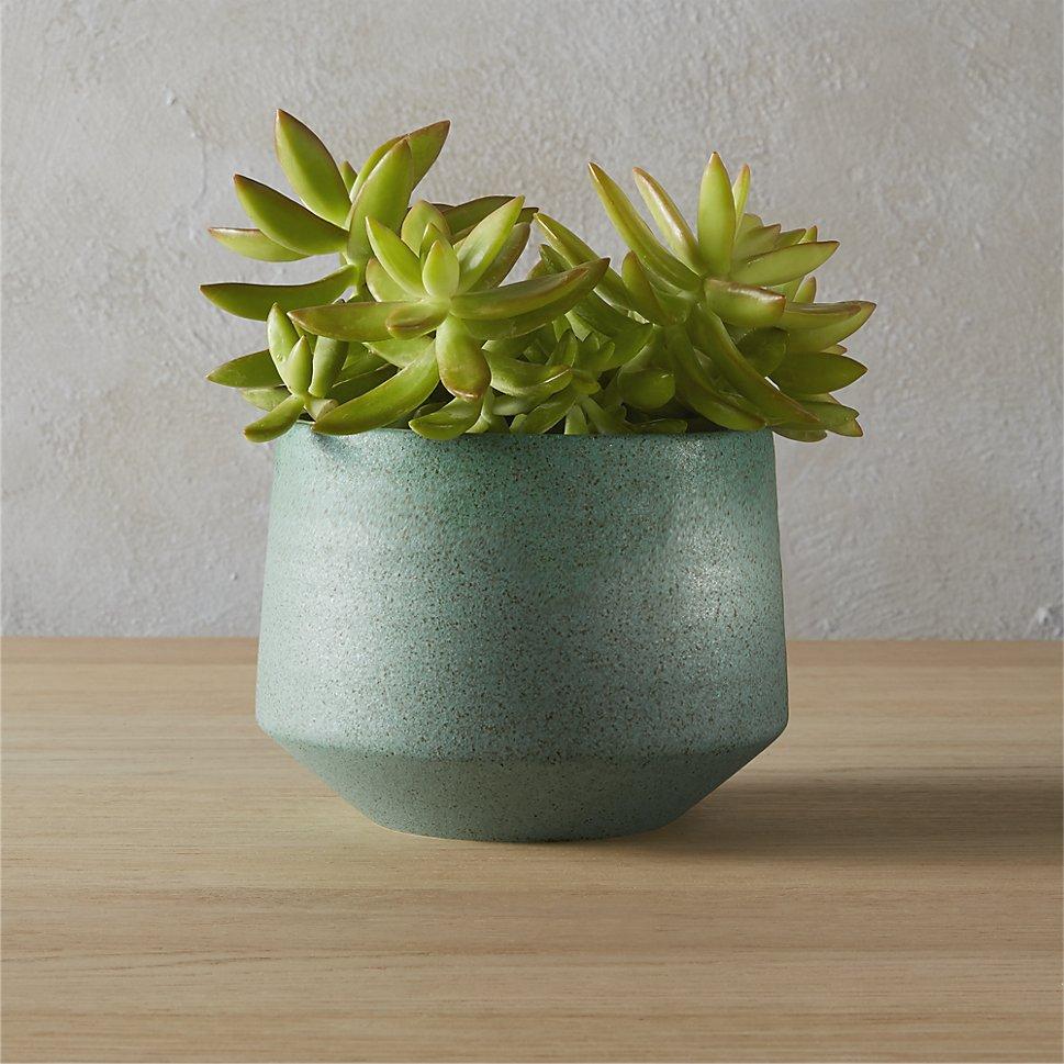 Light-teal-retro-style-planter