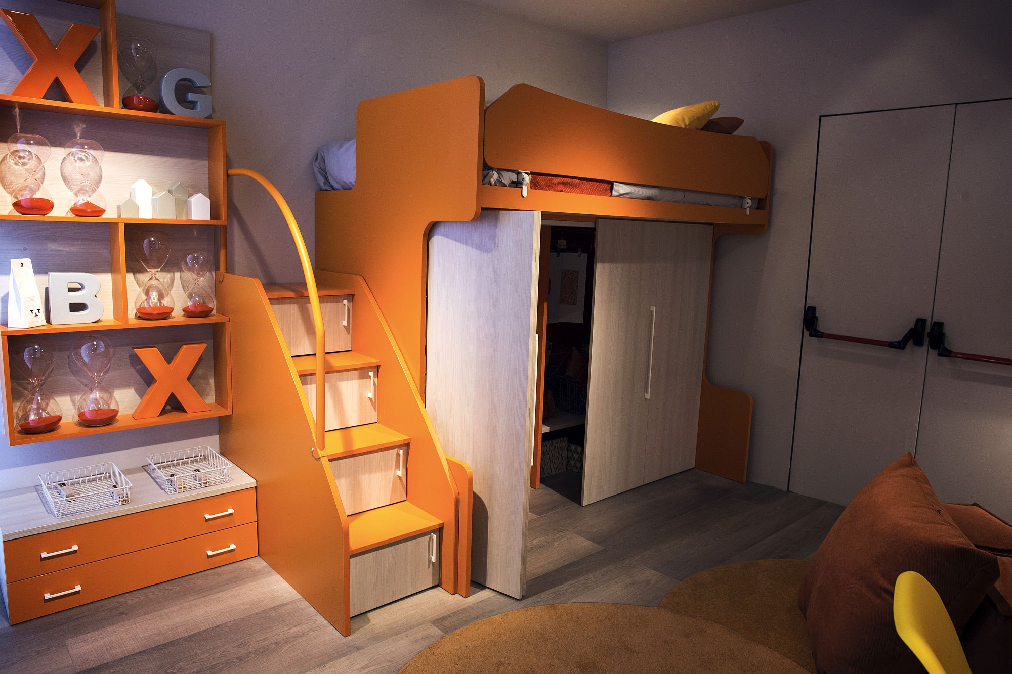 Orange Bedroom Furniture 50 Latest Kids Bedroom Decorating And Furniture Ideas