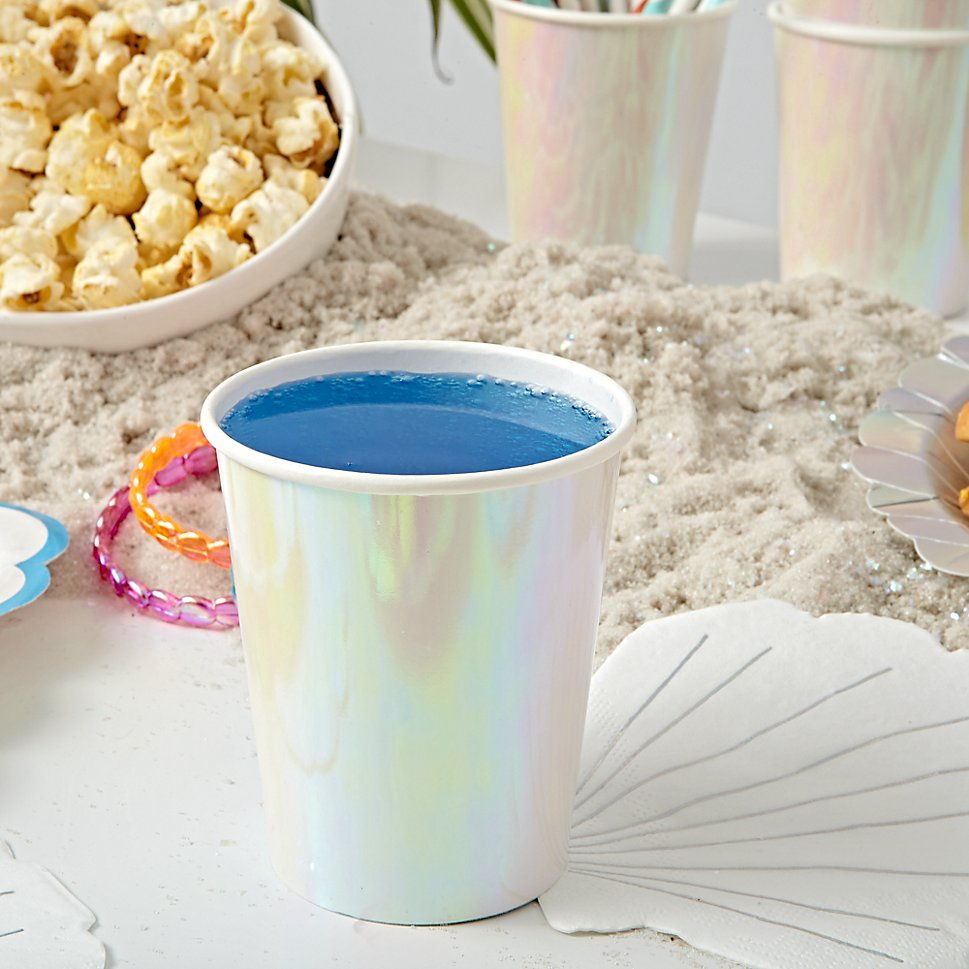 Mermaid party cups
