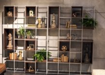 Metallic-frame-coupled-with-wooden-boxes-to-create-an-inimitable-shelf-217x155