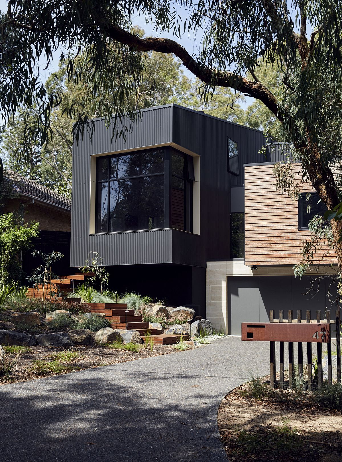 Modern modular home nestled in a lush green lot, Melbourne