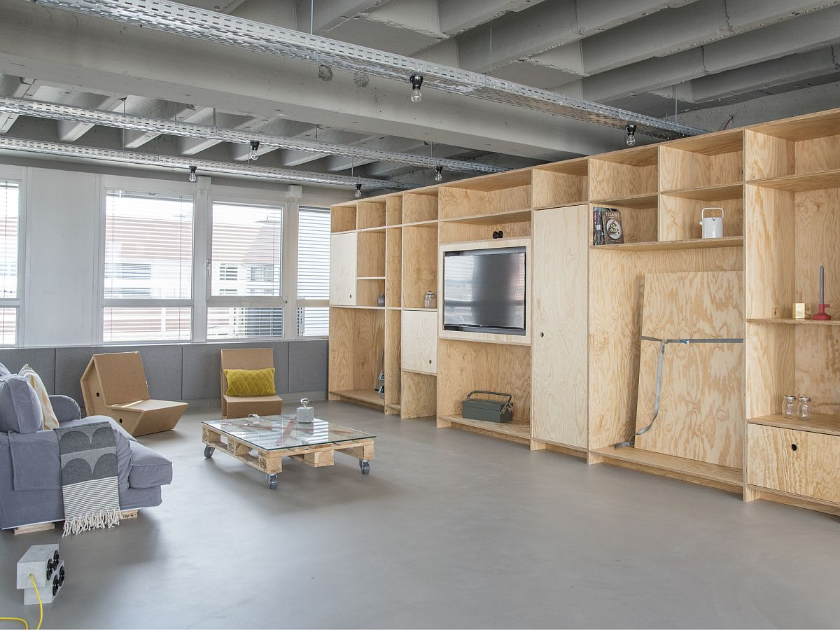 Outofoffice frankfurt modern industrial space for for Commercial space design