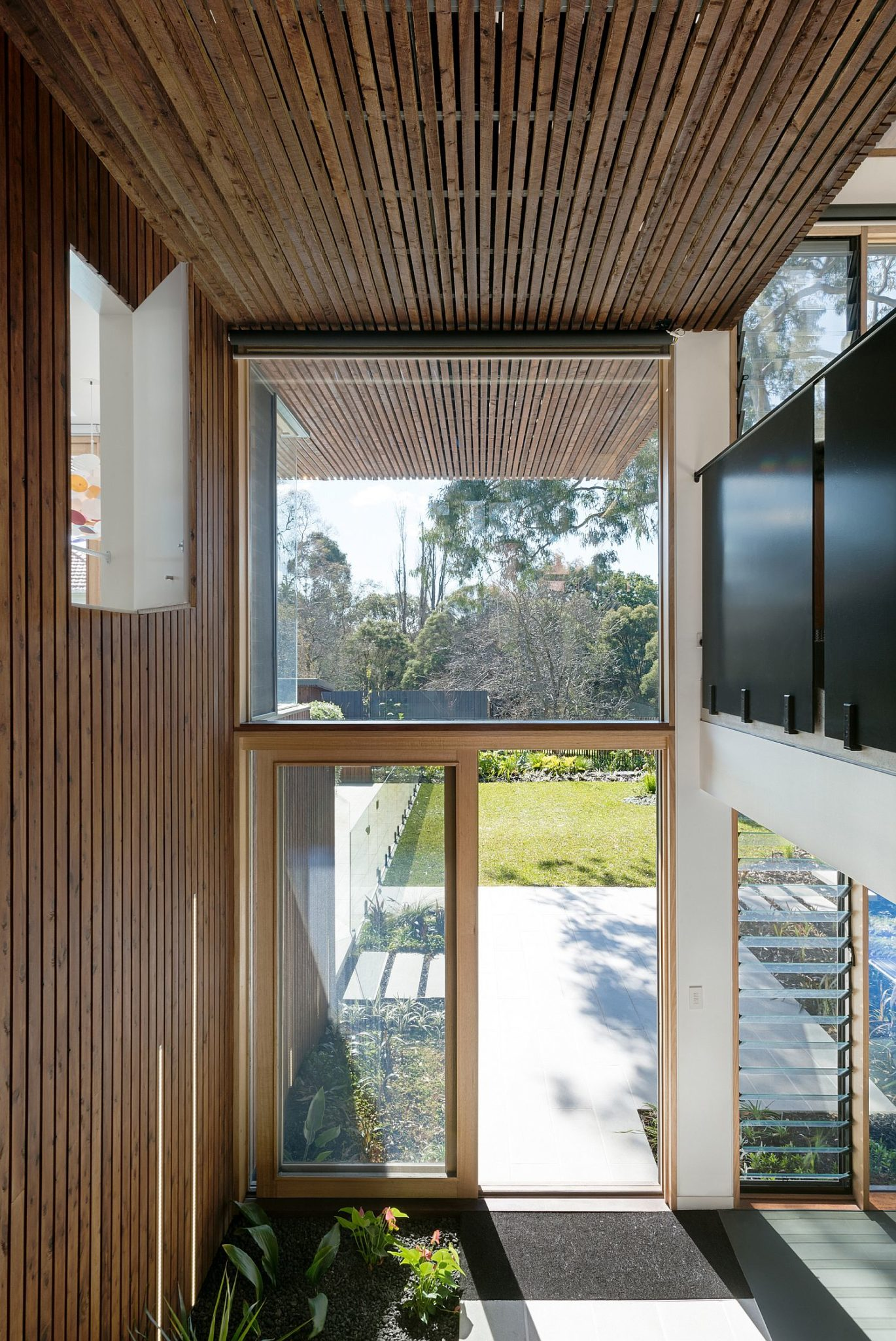Passive solar heating and cooling techniques cut back on energy needs of the home