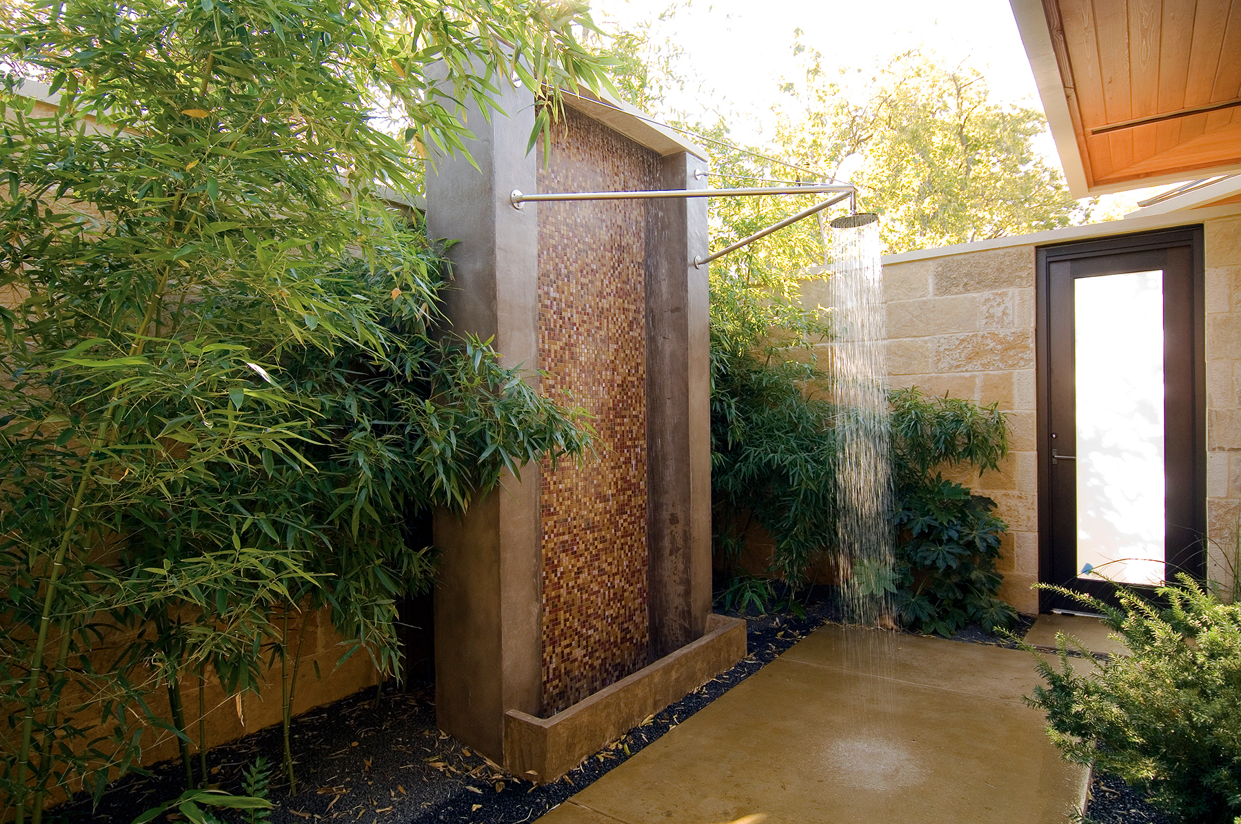 Luxury Open Showers epitome of luxury: 30 refreshing outdoor showers