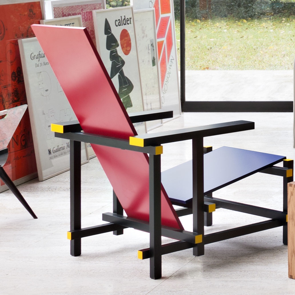 Red-and-Blue-chair-I