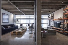 Revamped Modern Industrial Apartment in the Iconic Edifício Copan