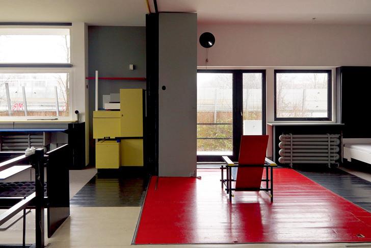 Rietveld Schröder House Interior II
