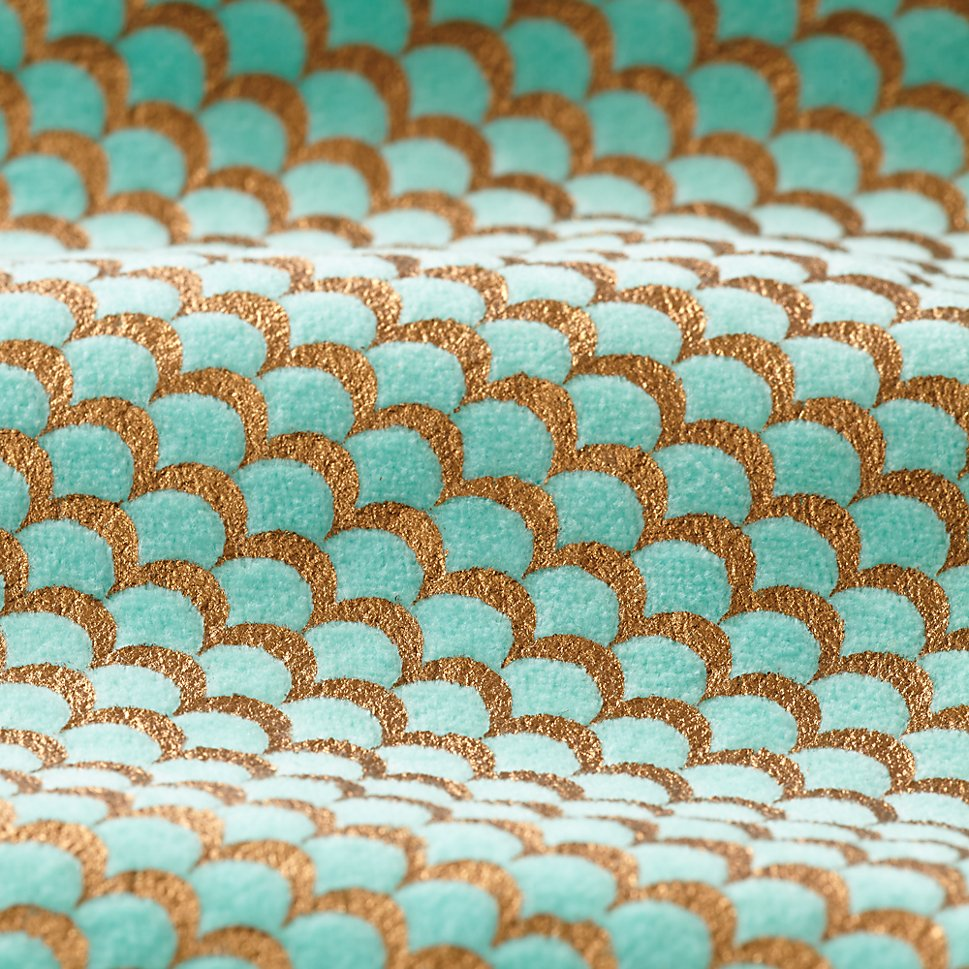 Scallop pattern from The Land of Nod