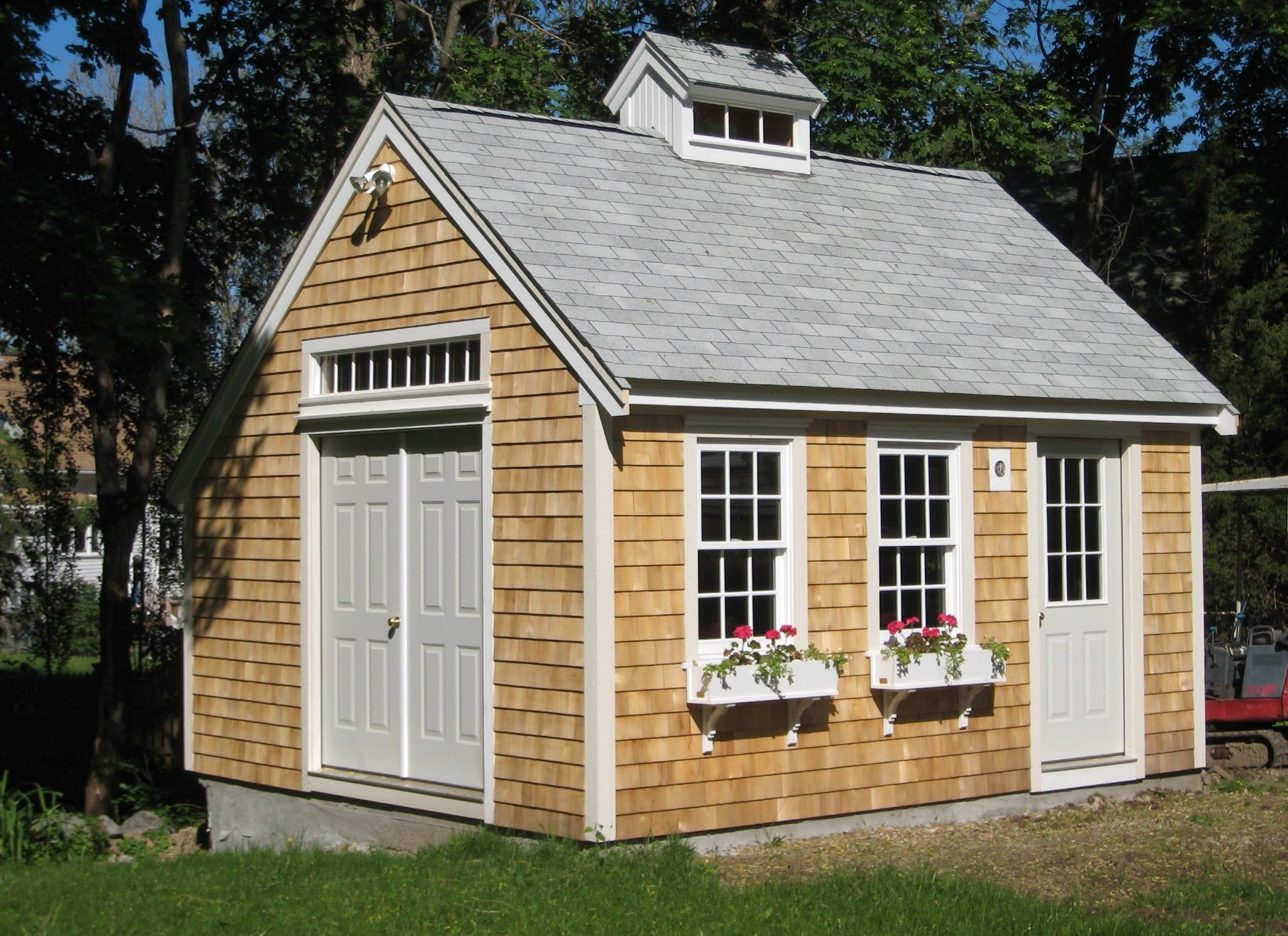 Fairytale backyards 30 magical garden sheds for Simple barn home plans