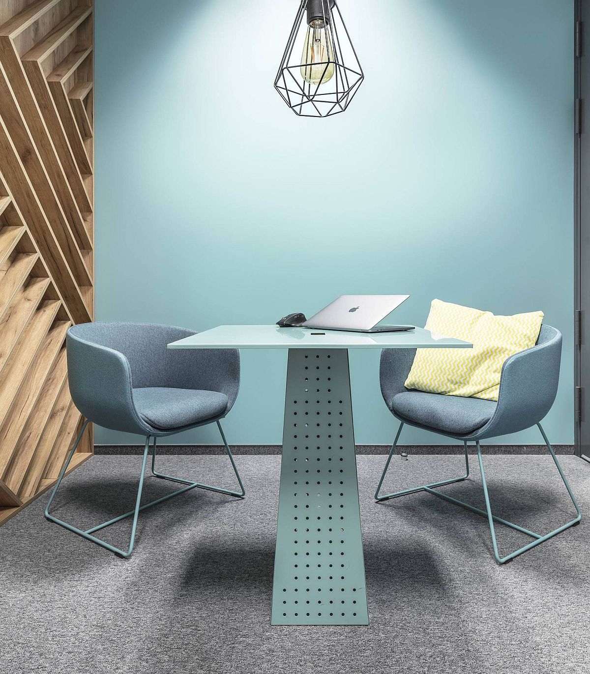 Small meeting rooms with color and individual style