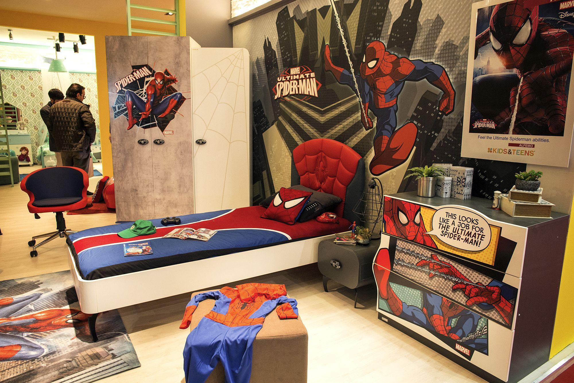 Kids Love Themed Bedroom Sets: 50 Latest Kids' Bedroom Decorating And Furniture Ideas