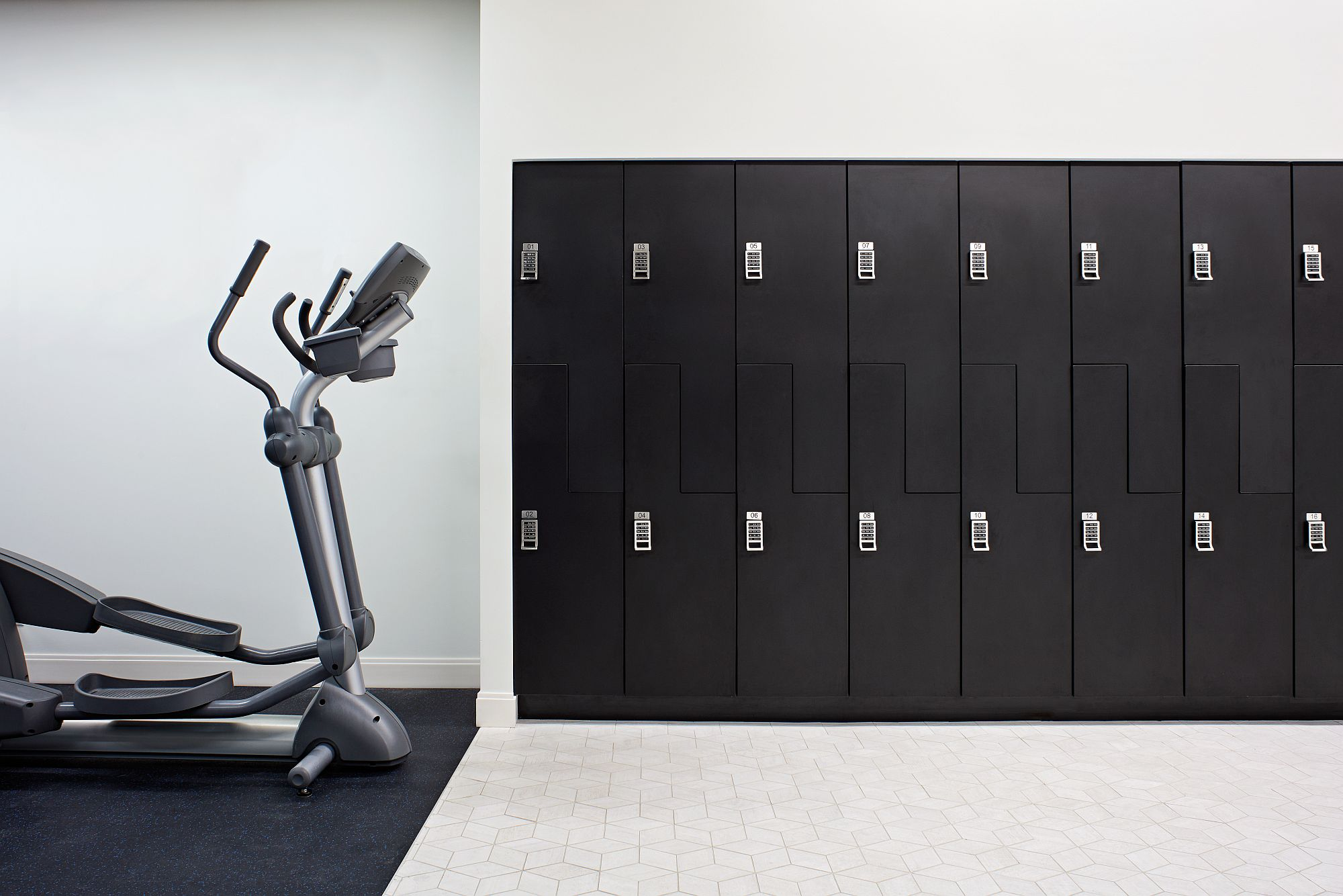 Sports Locker Room style storage for the OEG Office