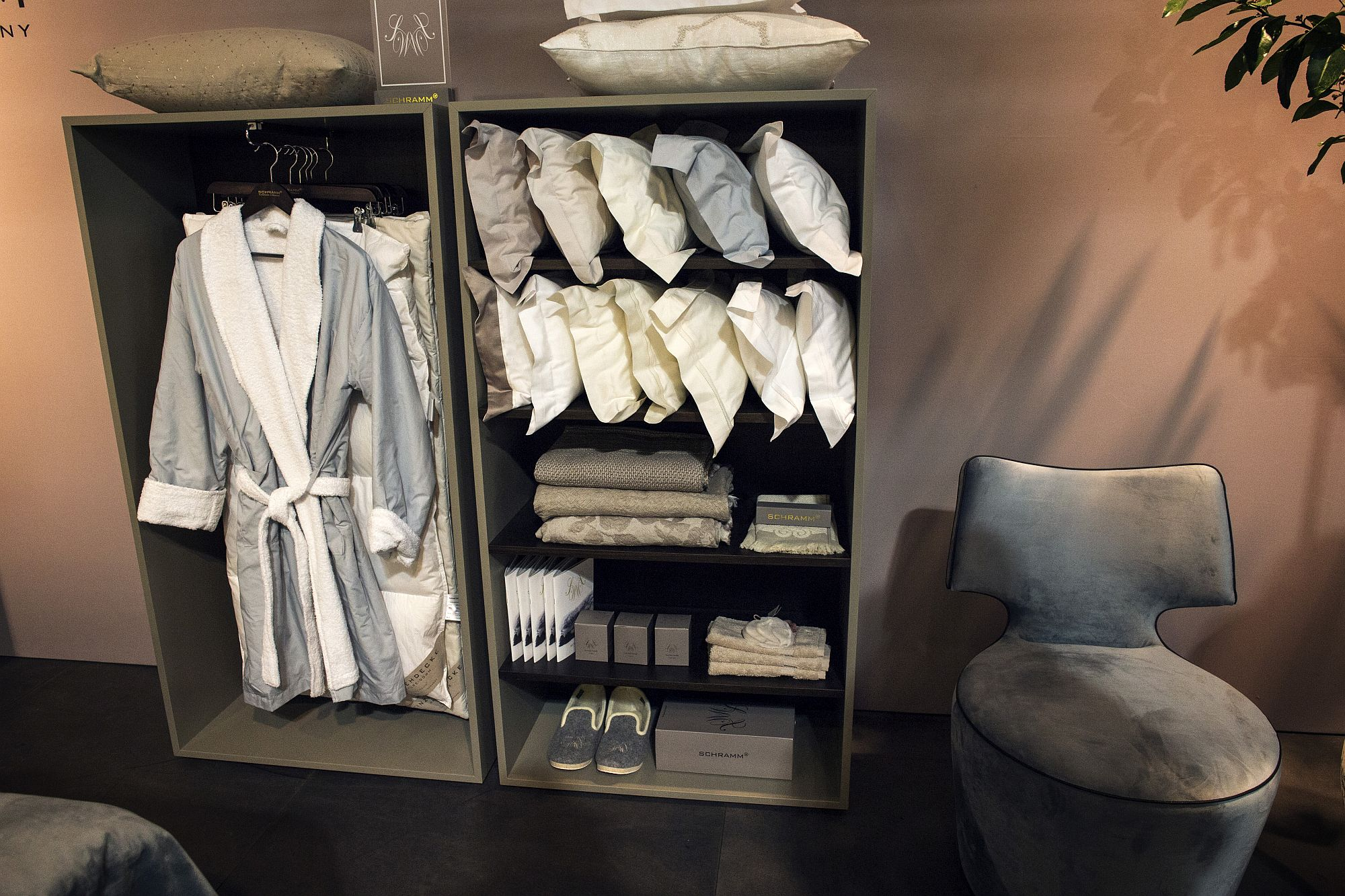 Standalone units turn the bedroom corner into a delightful closet