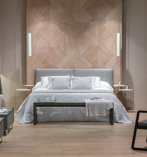 Starwood wooden looking tiles by Porcelanosa