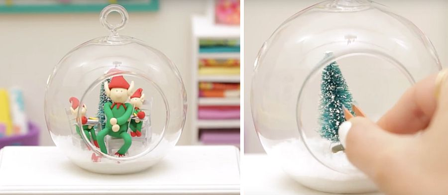 Uber cute elf terrarium