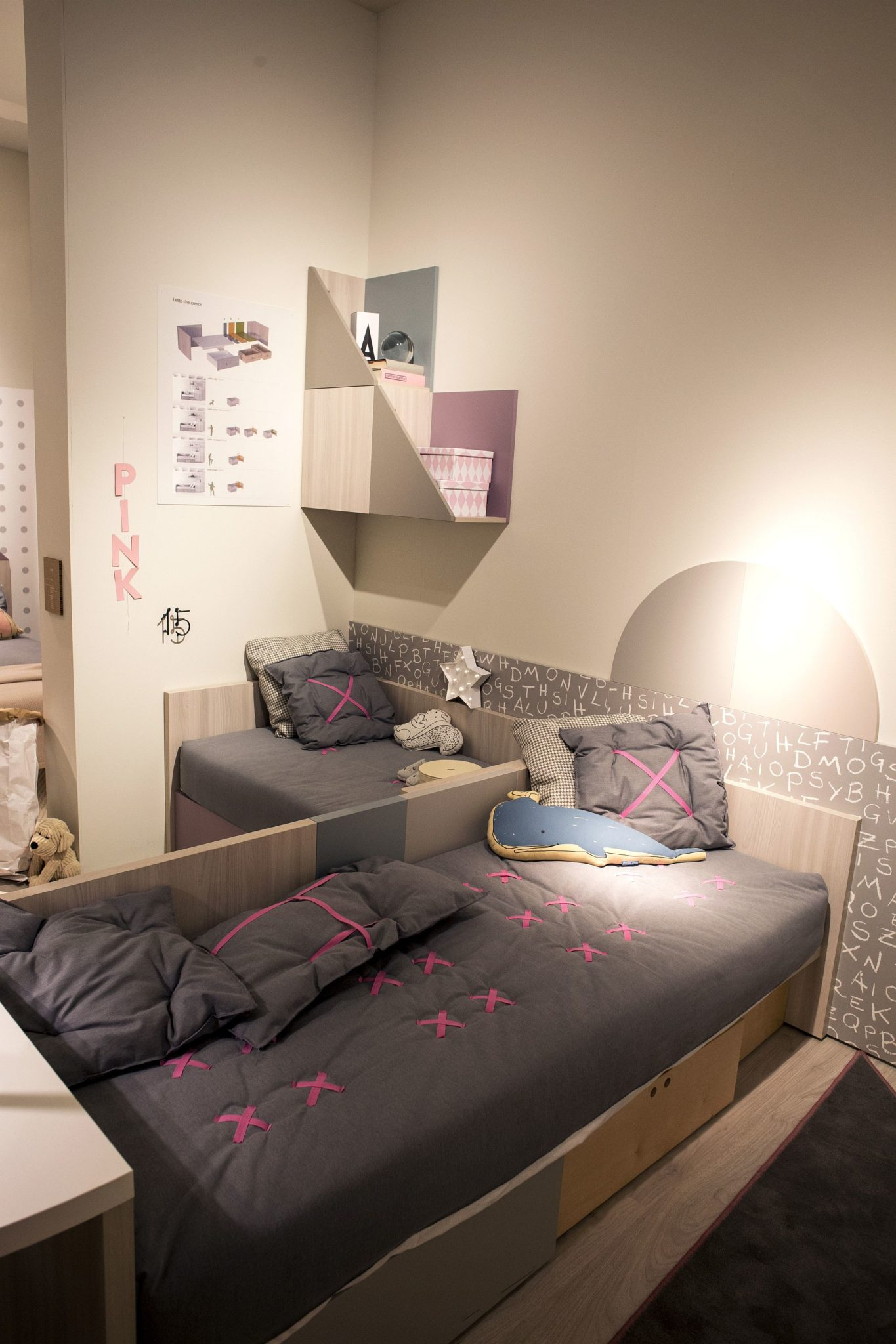 Designs For Small Rooms: 50 Latest Kids' Bedroom Decorating And Furniture Ideas