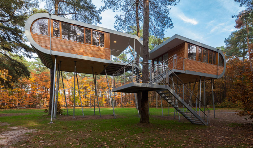 Unique treehouse as a modern sanctuary