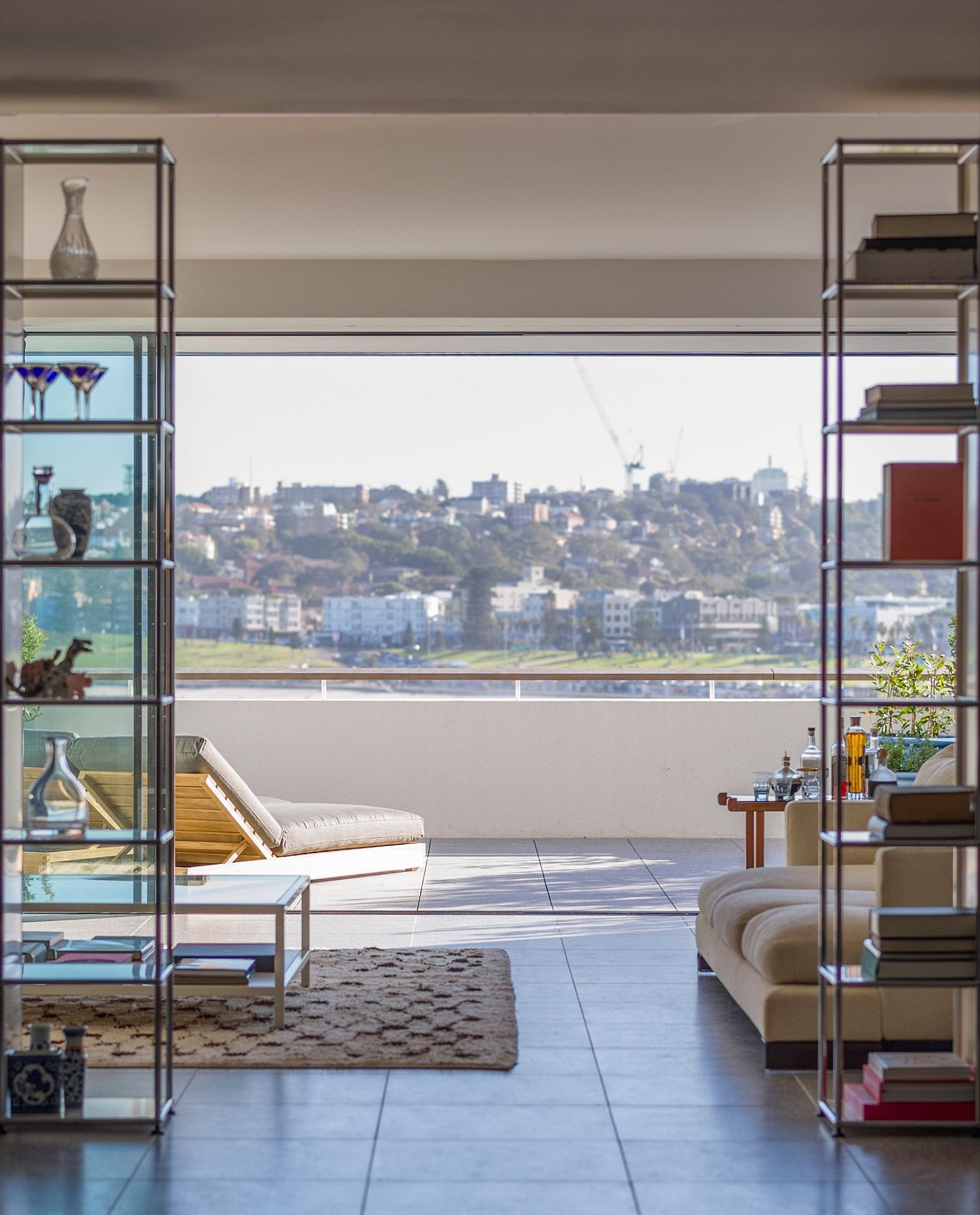 View from the top level of the Bondi Beach Home