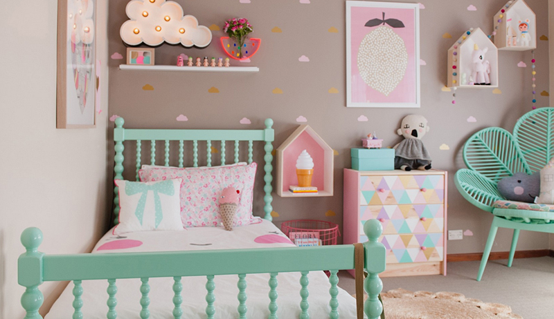 Vintage childrens bedroom ideas