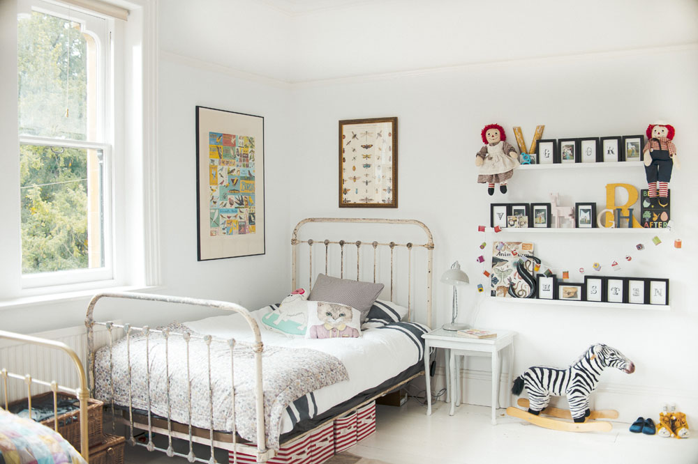 superb Vintage Boy Bedroom Part - 5: 30 Vintage Kids Rooms That Stand the Test of Time