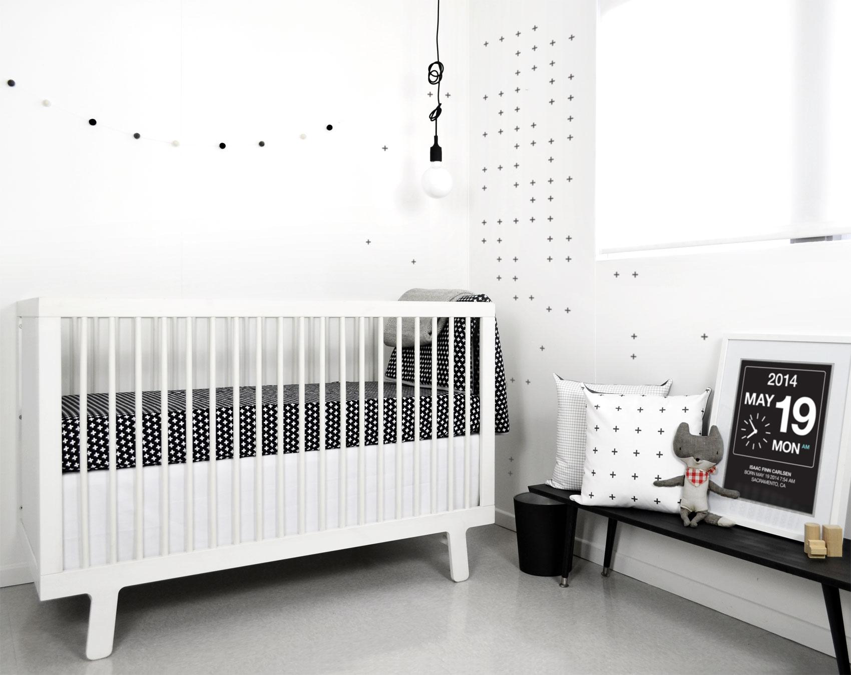 Exploring The Elegance And Minimalism Of Monochrome Nurseries
